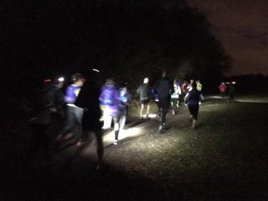 Running in the dark 2