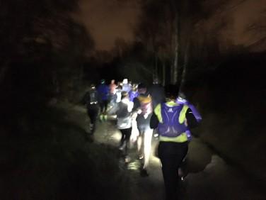Running in the dark 3