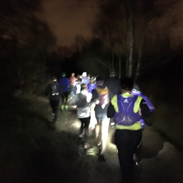 Running in the dark 3