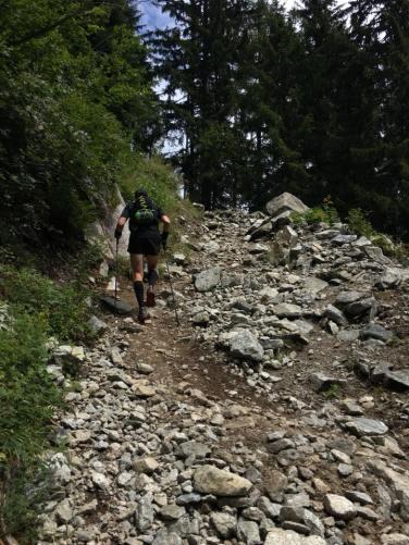 The Climb to Bovine...