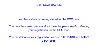 CCC Confirmation