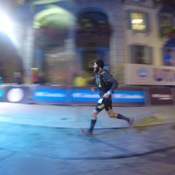 Sprinting to the finish...First Mountain ultra - CCC 2018