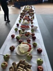 An amazing breakfast spread