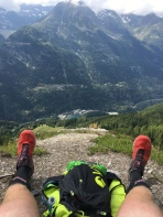 up into the rocky paths of the Alps