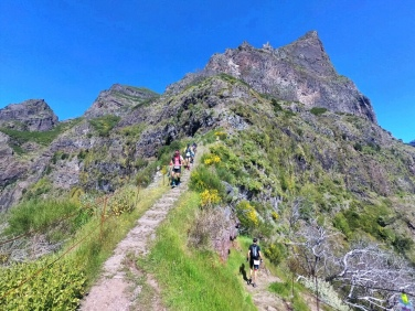 steep but runnable descents
