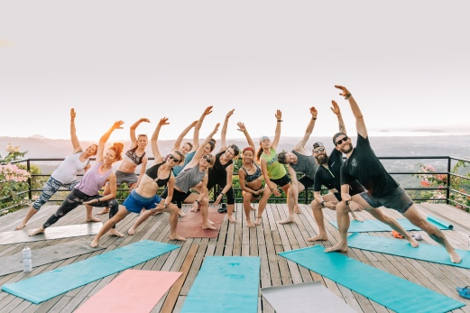 Did I mention we did Yoga?